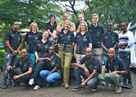 VET'S LIFE-CHANGING TRIP TO SUPPORT ANIMALS IN AFRICA