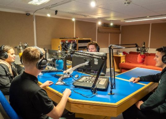 Journalism students put West Yorkshire police through their paces in media training event