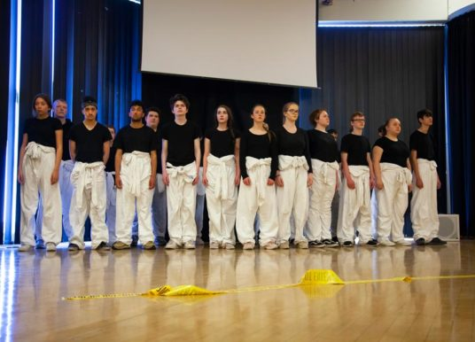 Performing Arts students take centre stage in online project