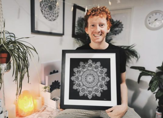 Leeds artist raising charity funds inspired by his mum