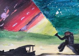 LEEDS: SpaceX Inspired Artwork Wins Children's Arts and Craft Competition