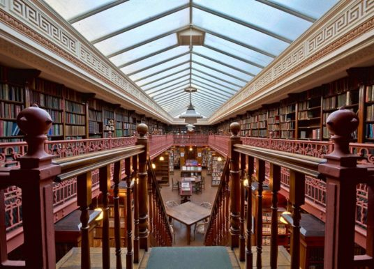The Leeds Library receives £49,800 National Lottery support to help address the impact of the Covid-19 pandemic on heritage