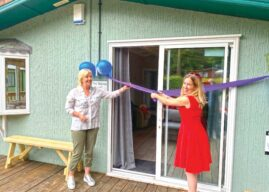 New Holiday Lodge For Foster Carers Opens