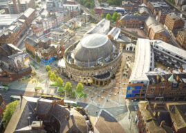 Work Started On Transforming Public Realm Outside The City's Corn Exchange Building
