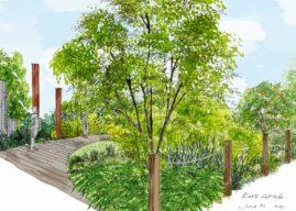 RHS Bringing The  COP26 Garden To  2021 Chelsea Flower Show