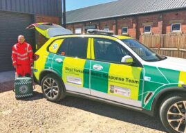 West Yorkshire Medic Response Team Launch Lifesaving Vehicle