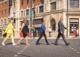 Work To Transform Four Key Areas In Leeds City Centre Complete After Two Years Of Construction