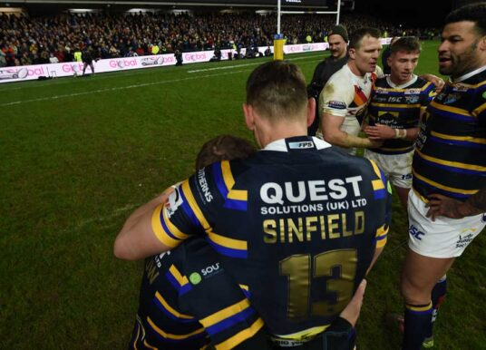Rhinos Reveal Plans For  Burrow And Sinfield Statue