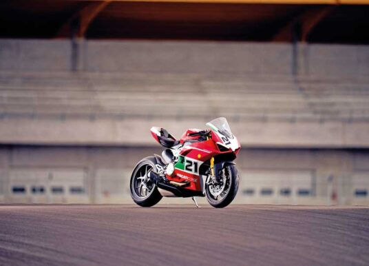 The Ducati Panigale V2 Bayliss 1st Championship 20th Anniversary