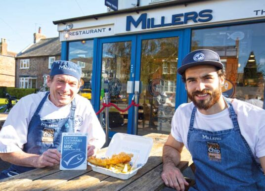Millers Fish And Chip Shop In York Named Regional Hero For Championing Sustainable Seafood
